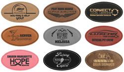 Leatherette Name Badge 4