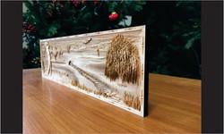 3 Wood Carving Golf Scene CloseUp_Website Image