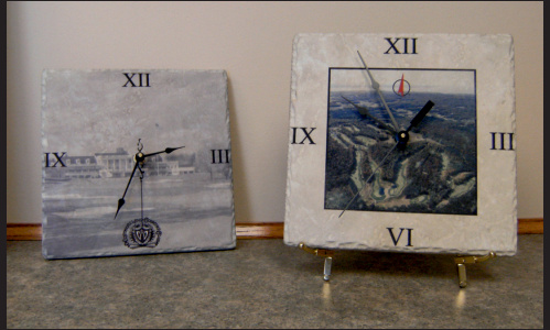 Personalized Stone Clocks1