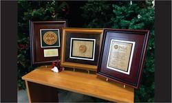 Framed Awards Wood Grouping2_Website Image