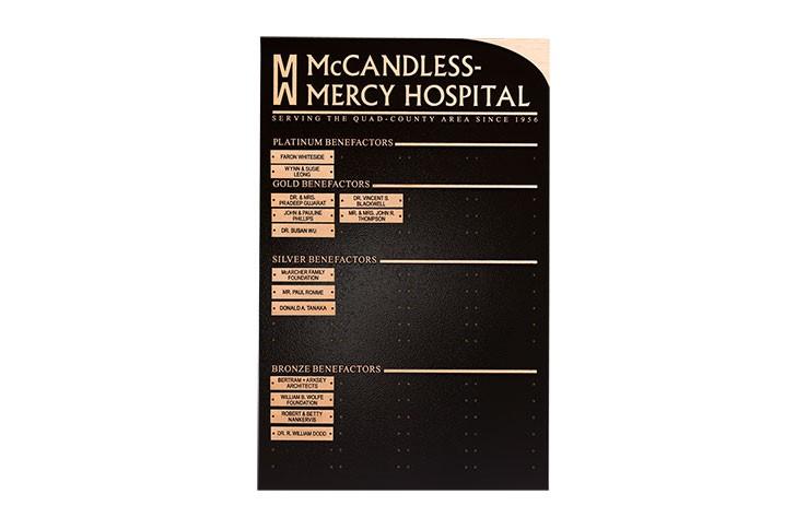 Cast Plaque_mccandlesshospital