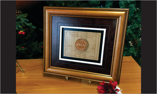 Framed Award with 3d Wood and Leather2_Website Image