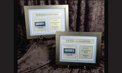 Framed Awards2