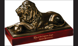 Bronzed Lion1