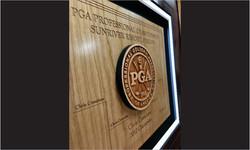Framed Award with 3d Wood Logo CloseUp2_Website Image