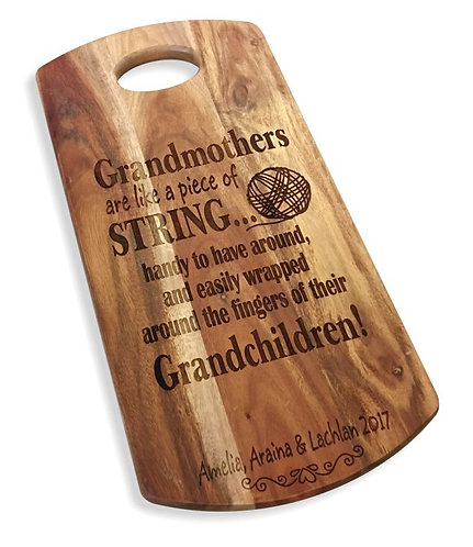 Grandmothers are like string
