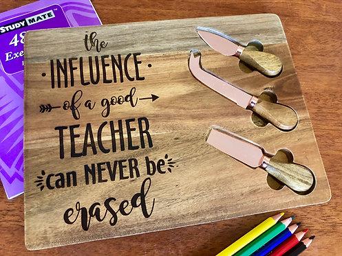 Teacher Gift Platter Designs