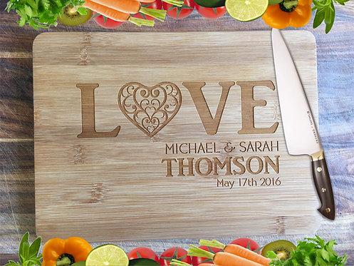 LOVE Wedding Board