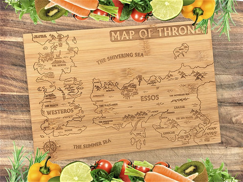 Map Of Thrones GOT