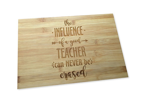 A Teacher's Influence