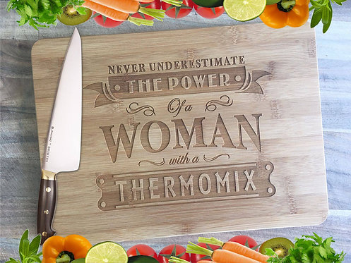 Woman with a Thermomix