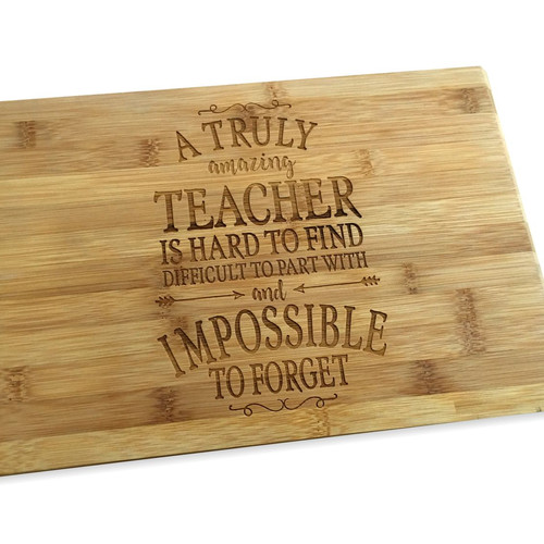 Custom engraved chopping boards thermoart australia an amazing teacher urtaz Image collections