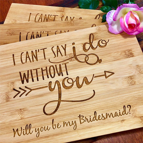 Bridesmaid Gift Board