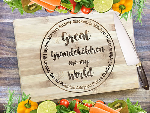 Grandchildren Are My World