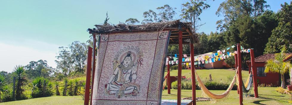 Shiva Presente no Instituto de Desenvolvimento e Estudos da Consciência Holística