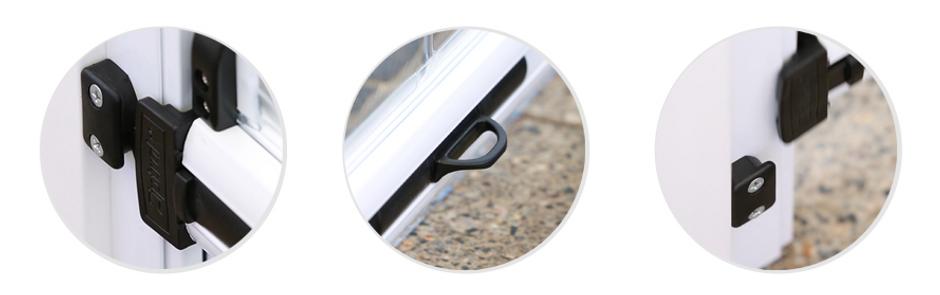 Patented Ziptrack Centre Lock Release