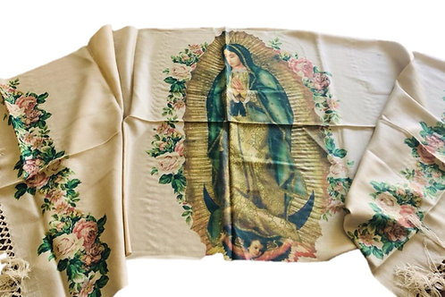 Rebozo Virgen de Guadalupe