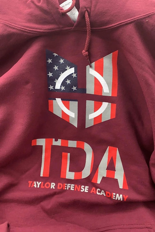 TDA-Official a hooded Sweatshirt