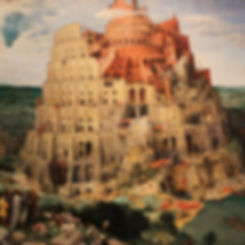 Tower of Babel (Babylon), a famous paint