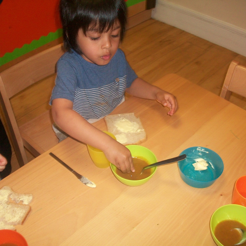 eating vegetable soup (3)