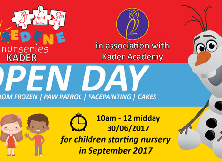 Rosedene Kader Open Day - 30th June