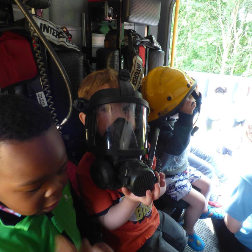 Rosedene Nursery in Hemlington gets Fire Service Visit (19)