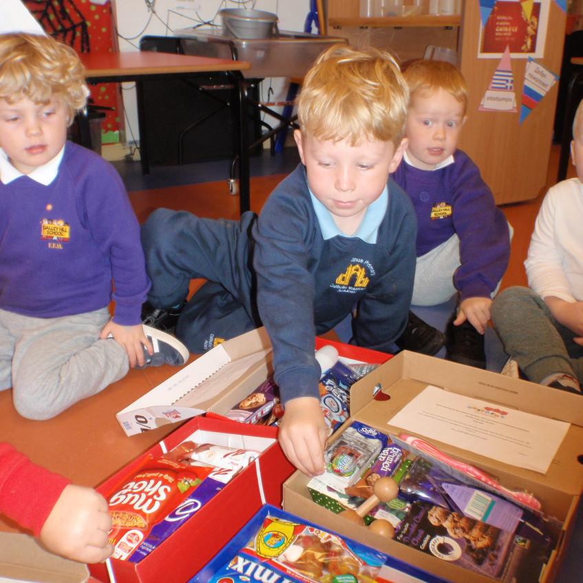 Rosedene Nurseries Guisborough Shoebox Appeal (7)