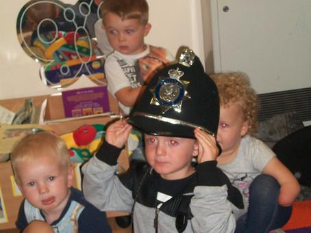 Bobby the Police Bear visits Hemlington Childrens Centre