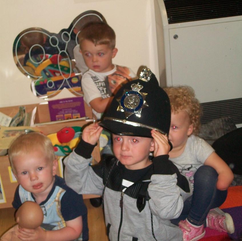 Rosedene at Hemlington Childrens Centre get police visit (6)