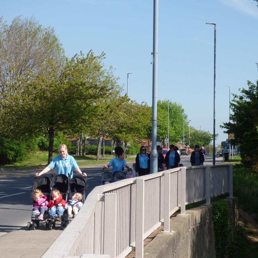 Rosedene Nurseries Hemlington Childrens Centre Muddy Puddle Walk 1 (6)