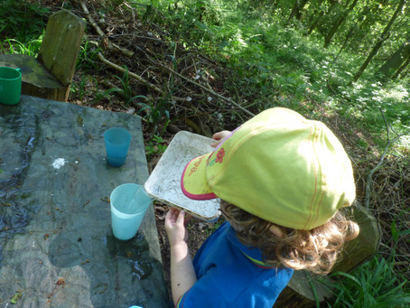 Exploring in the forest - an Egglescliffe adventure