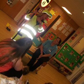 Hemlington Children's Centre get Lollypop visit