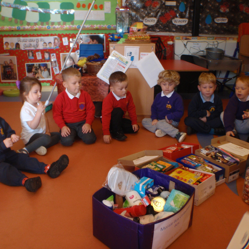 Rosedene Nurseries Guisborough Shoebox Appeal (3)