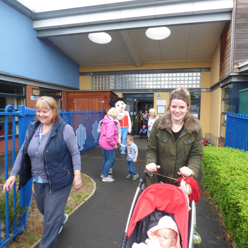 Rosedene  Nurseries Saltburn Big Toddle for Barnado's (9)