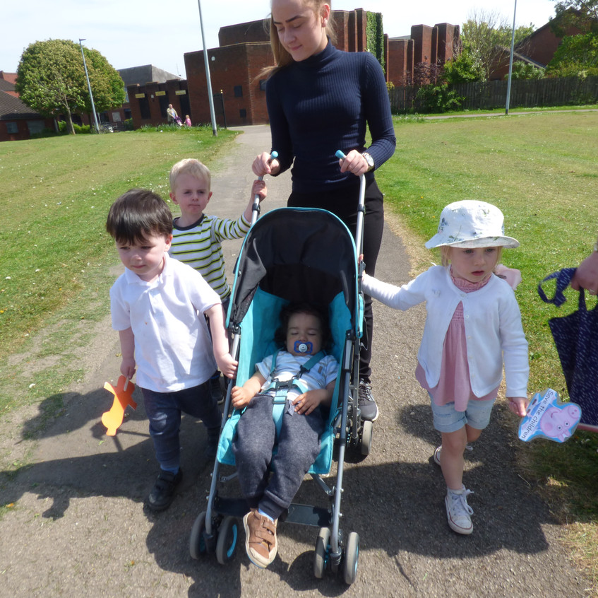 Rosedene Nurseries Hemlington Childrens Centre Muddy Puddle Walk 2 (10)