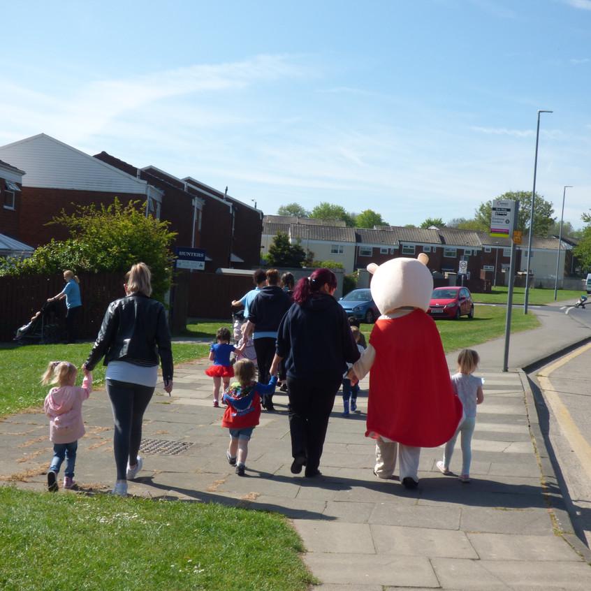 Rosedene Nurseries Hemlington Childrens Centre Muddy Puddle Walk 1 (9)