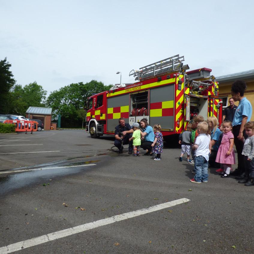 Rosedene Nursery in Hemlington gets Fire Service Visit (6)