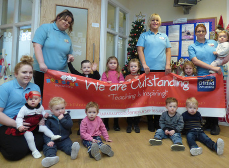 Rosedene Ormesby becomes second Outstanding Private Day Care setting in Redcar and Cleveland Borough