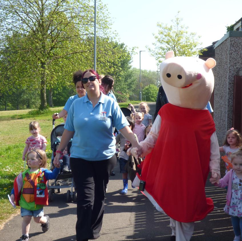 Rosedene Nurseries Hemlington Childrens Centre Muddy Puddle Walk 1 (11)