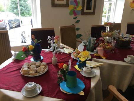 Rosedene Northallerton visits Mount Vale Care Home