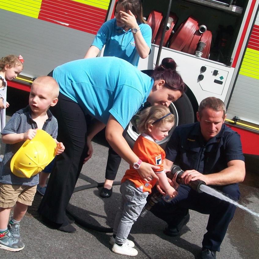 Rosedene Nursery in Hemlington gets Fire Service Visit (43)