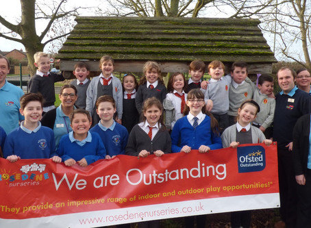 Rosedene St. Pauls gains Outstanding Ofsted Status