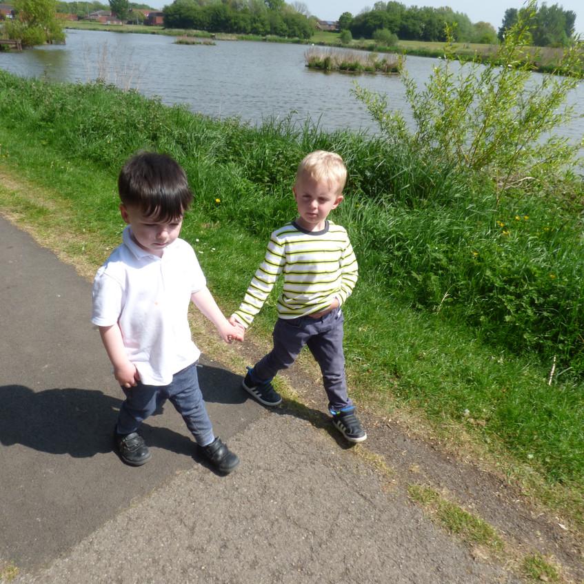 Rosedene Nurseries Hemlington Childrens Centre Muddy Puddle Walk 2 (1)