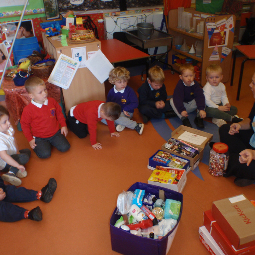 Rosedene Nurseries Guisborough Shoebox Appeal (2)