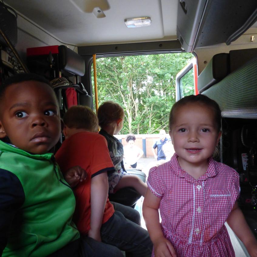 Rosedene Nursery in Hemlington gets Fire Service Visit (13)