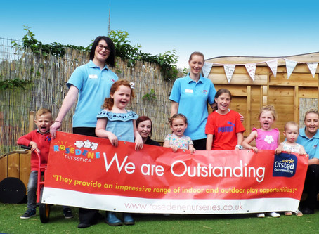 Rosedene Nurseries at Hemlington Initiative Centre receives Outstanding Ofsted rating