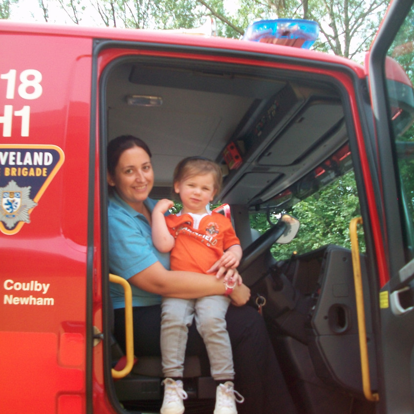Rosedene Nursery in Hemlington gets Fire Service Visit (42)