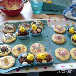 St. Paul's Easter Egg hunt and baking activities