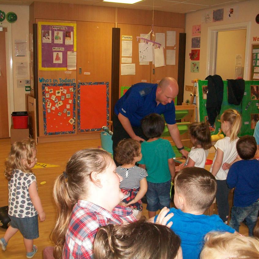 Rosedene at Hemlington Childrens Centre get police visit (7)