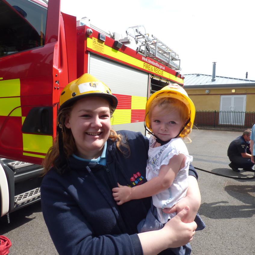 Rosedene Nursery in Hemlington gets Fire Service Visit (28)